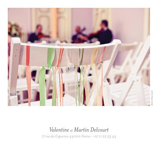 Carte de remerciement mariage Souvenir 6 photos blanc - Page 4