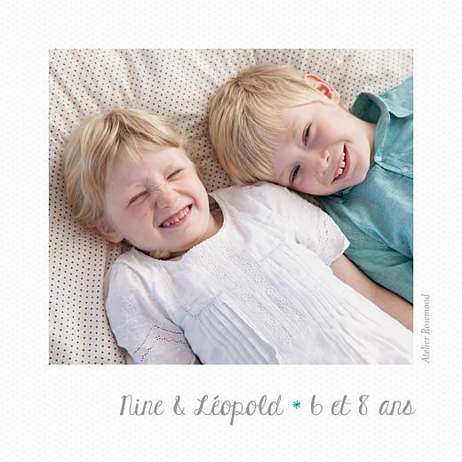 Carte de voeux Polaroid (mini 3 photos) blanc - Page 4