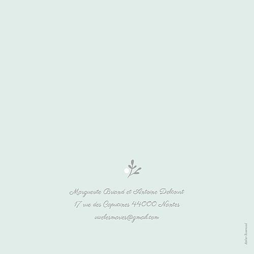 Faire-part de mariage Couronne champêtre (4 pages) menthe - Page 4