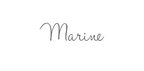 Marque-place Baptême Vichy bleu