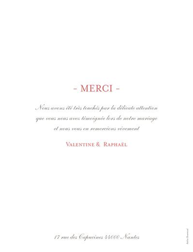 Carte de remerciement mariage Grand souvenir 5 photos blanc - Page 2