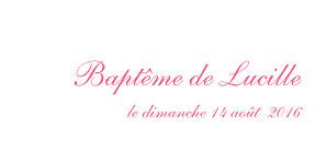 Etiquette de baptême animaux poisson rose