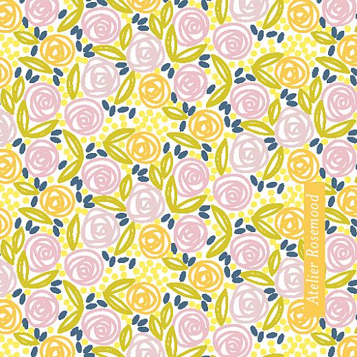 Etiquette perforée mariage Instant fleuri blanc &  jaune - Page 2