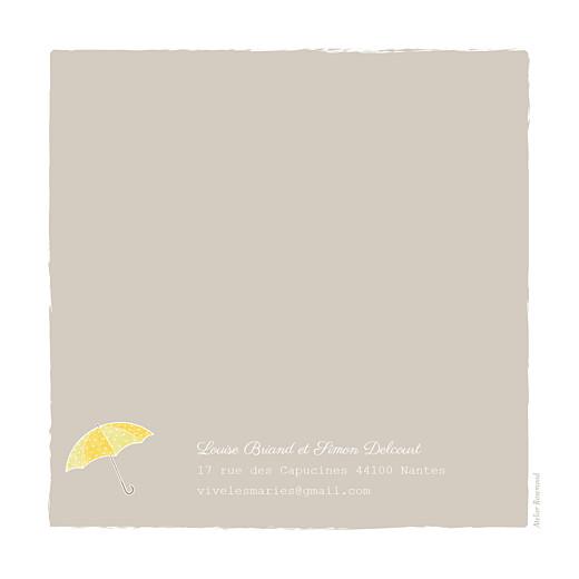 Faire-part de mariage À pieds joints (4 pages) couple parapluie - Page 4