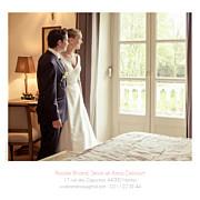 Carte de remerciement mariage Moderne photos (triptyque) blanc page 3