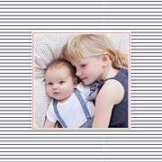Faire-part de naissance Petit matelot (triptyque) bleu & rouge page 4