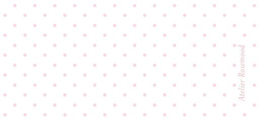 Etiquette perforée baptême Pois chics rose - Page 2
