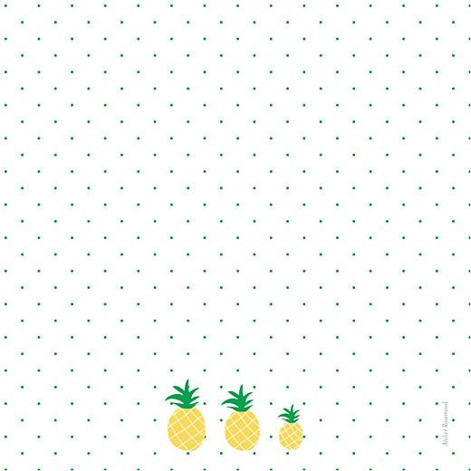 Faire-part de naissance Ananas 3 photos jaune - Page 4