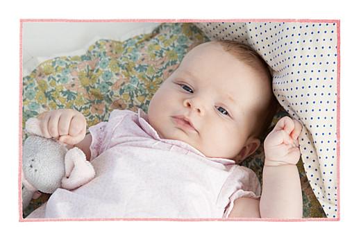 Faire-part de naissance Pirouette 2 photos paysage rose - Page 2