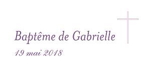 Etiquette de baptême violet croix & colombes violet