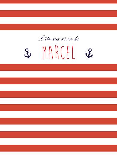 Affichette Matelot rouge & bleu - Page 1