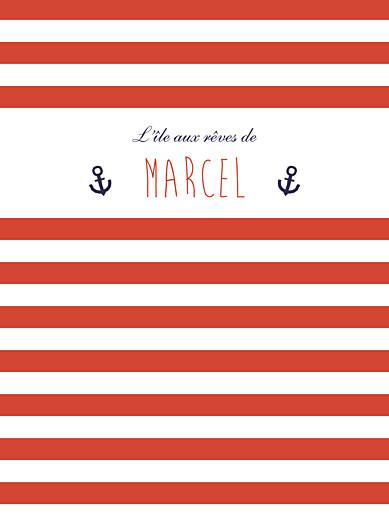 Affiche Matelot rouge & bleu - Page 1