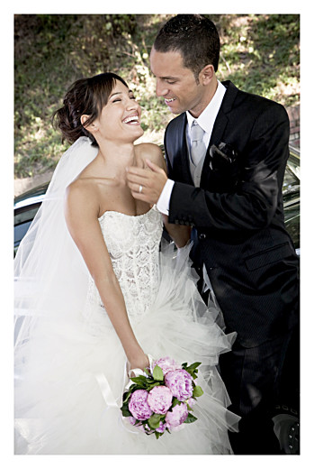 Carte de remerciement mariage Nomade bleu
