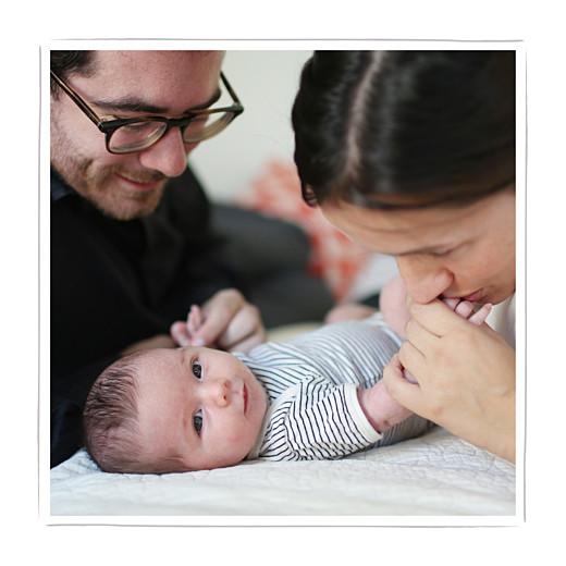 Faire-part de naissance Mon chéri 3 photos blanc - Page 2