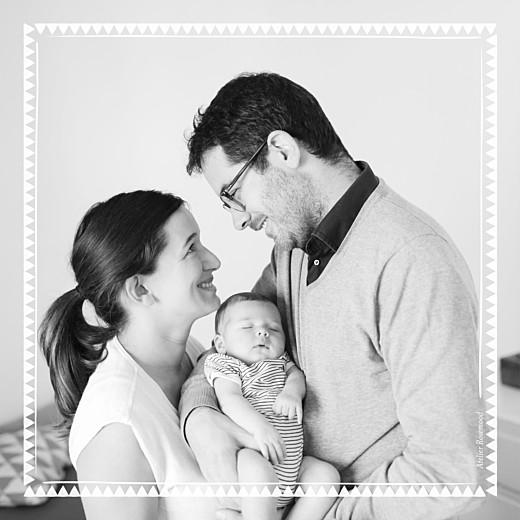 Faire-part de naissance Mon chéri 3 photos blanc - Page 4