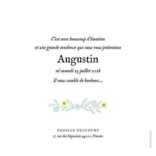 Faire-part de naissance Douceur champêtre vert clair - Page 2