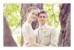 Carte de remerciement mariage Souvenir 1 photo (paysage) blanc - Page 1