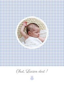 Affichette Vichy photo ciel