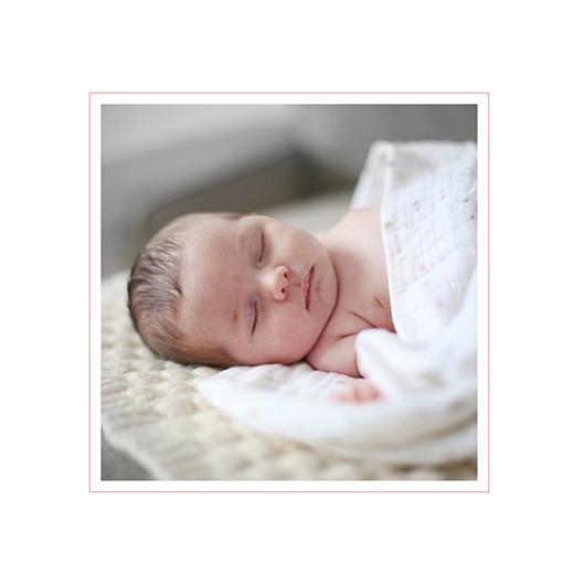 Faire-part de naissance Jeux enfants à 2 (4 pages) rose filles