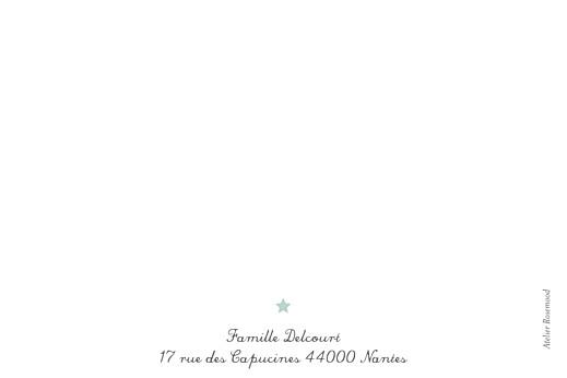 Carte de correspondance Hollywood bleu - Page 2