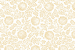 Carte de correspondance jaune idylle jaune