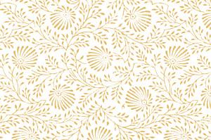 Carte de correspondance classique idylle jaune