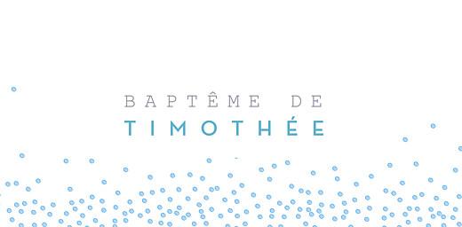 Marque-place Baptême Éveil bleu - Page 4
