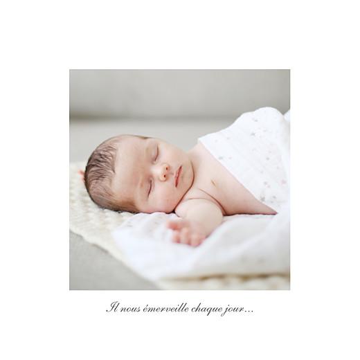 Faire-part de naissance Carrousel photo blanc - Page 2