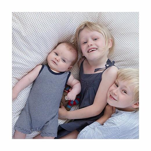 Faire-part de naissance Lovely family 2 enfants 3photos garçons - Page 2