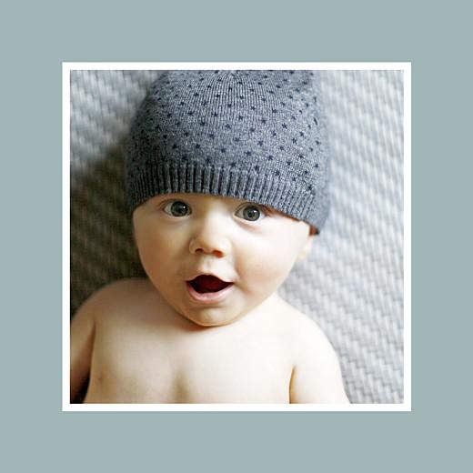 Faire-part de naissance Jeux d\'enfant (triptyque) gris