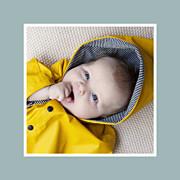 Faire-part de naissance Jeux d\'enfant (triptyque) gris page 6