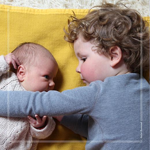 Faire-part de naissance Mon bébé joli 4 pages kraft - Page 4