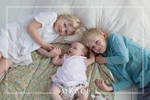 Carte de remerciement marron merci bébé joli kraft