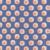 Faire-part de naissance Wax orange & bleu - Page 4