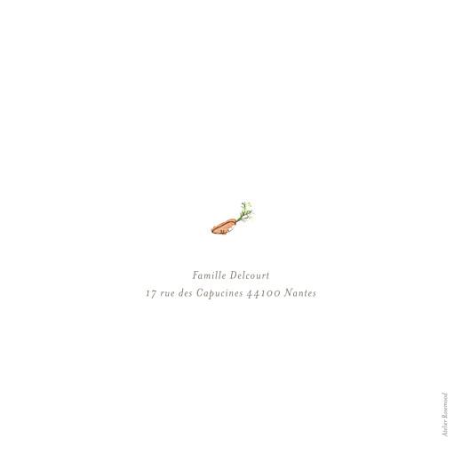 Faire-part de naissance Petits lapins (1 enfant) garçon - Page 4