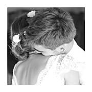 Carte de remerciement mariage Souvenir 4 photos (triptyque) bleu page 4
