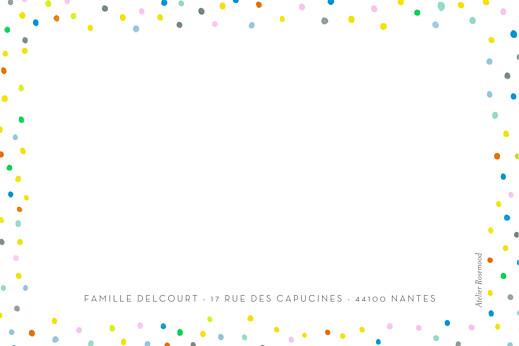 Carte de correspondance Happy blanc - Page 2