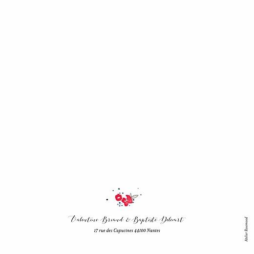 Faire-part de mariage Romance blanc - Page 4