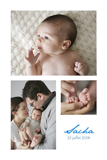 Faire-part de naissance Jungle 3 photos vert - Page 2