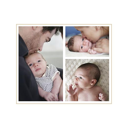 Faire-part de naissance Losanges 3 photos bleu - Page 2