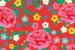 Carte de correspondance Pivoines rouge - Page 2