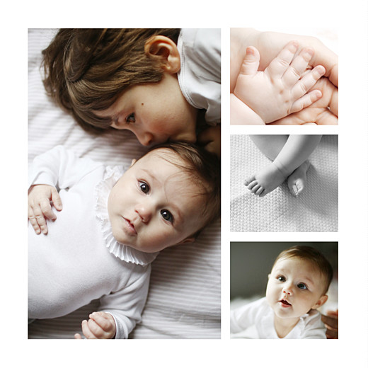 Faire-part de naissance Chat & compagnie 5 photos vert - Page 2