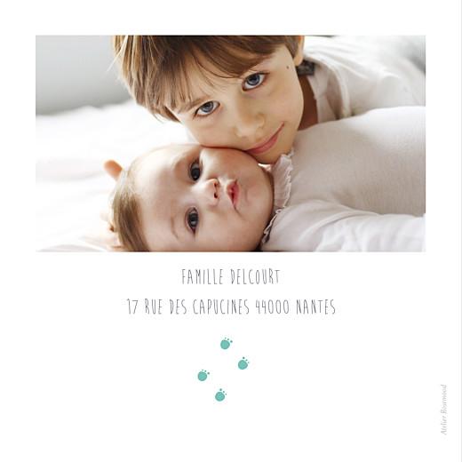Faire-part de naissance Chat & compagnie 5 photos vert - Page 4