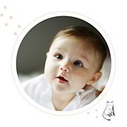 Faire-part de naissance Chat & compagnie (triptyque) poudre page 5