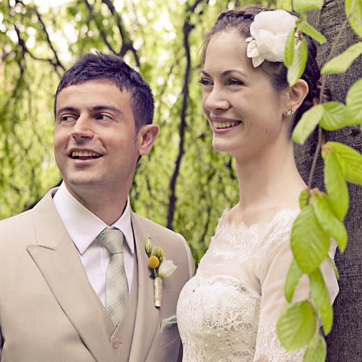Carte de remerciement mariage Seigaiha jaune - Page 4