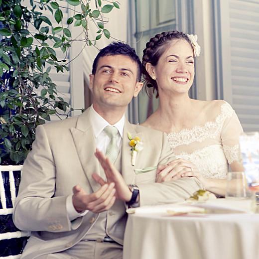 Carte de remerciement mariage Seigaiha jaune - Page 6
