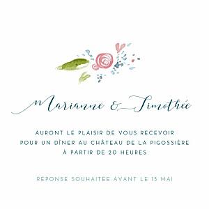 Carton D Invitation De Mariage Rosemood Rosemood Be