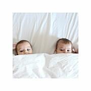 Faire-part de naissance Lovely family twins (triptyque) fille page 4