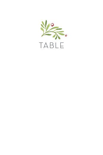 Marque-table mariage Murmure de forêt vert - Page 2