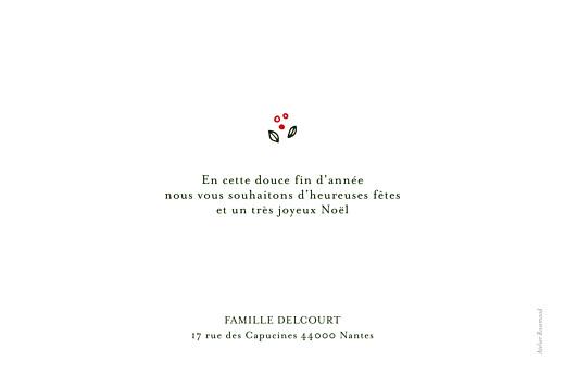 Carte de voeux Couronne de décembre (3 photos) rouge - Page 2